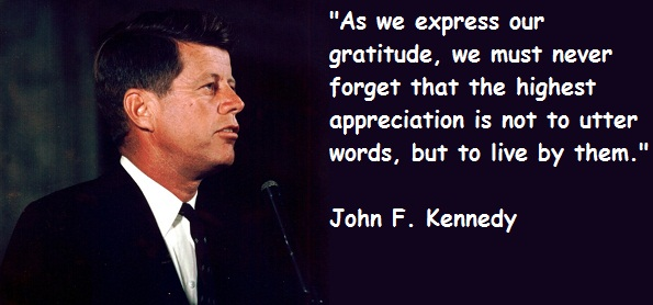 John F Kennedy Quotes About Love : John F Kennedy Quote